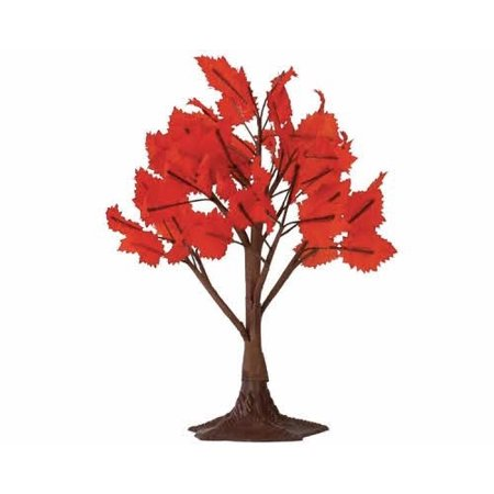 """Lemax Accessory Village Collection 9"""" Autumn Maple Tree, Large #44151"""