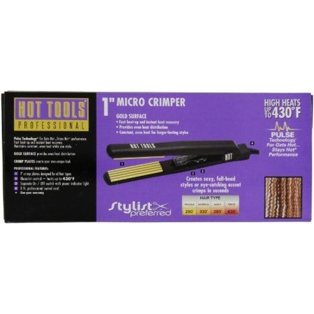 - Hot Tools Micro Crimper, 1 Inch