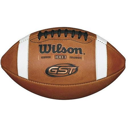 Wilson GST Game Football - Wilson Home Jersey