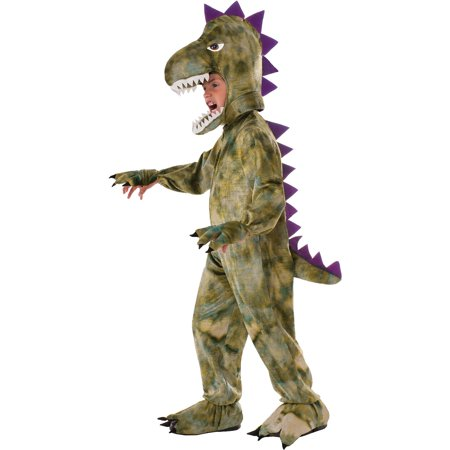 Dinosaur Child Halloween Costume, One Size, 4-6 - Green Ninjago Halloween Costumes