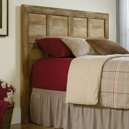Sauder Dakota Pass Full/Queen Headboard, Craftsman Oak Finish