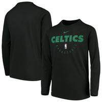 9935bdcdadb6 Product Image Boston Celtics Nike Youth Practice Logo Legend Long Sleeve Performance  T-Shirt - Black