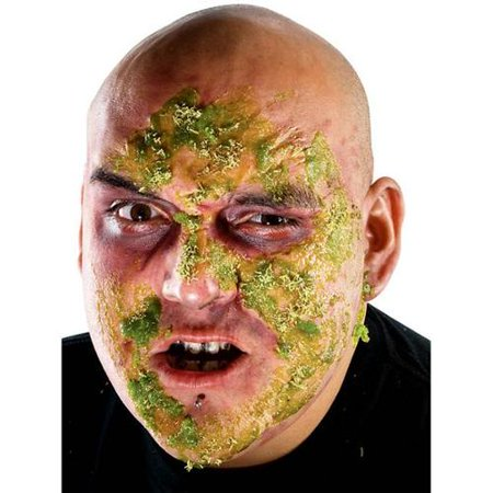 Theatrical Effects Zombie Rot Makeup - Halloween Girl Zombie Makeup Tutorial