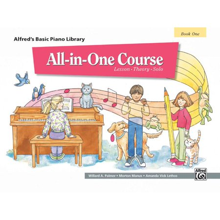 Alfred's Basic All-In-One Course, Bk 1: Lesson * Theory * Solo