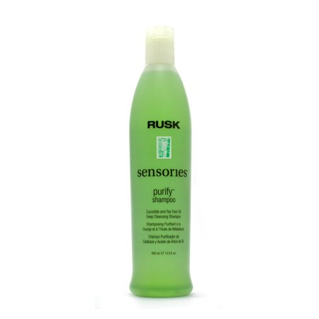 Rusk Purify Cucurbita & Tea Tree Oil Deep Cleansing Shampoo 13.5 FL (All Clear Hair Purifying And Cleansing System)