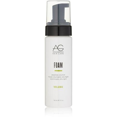 Weightless Styling Foam (AG Hair Foam Weightless Volumizer 5 oz)