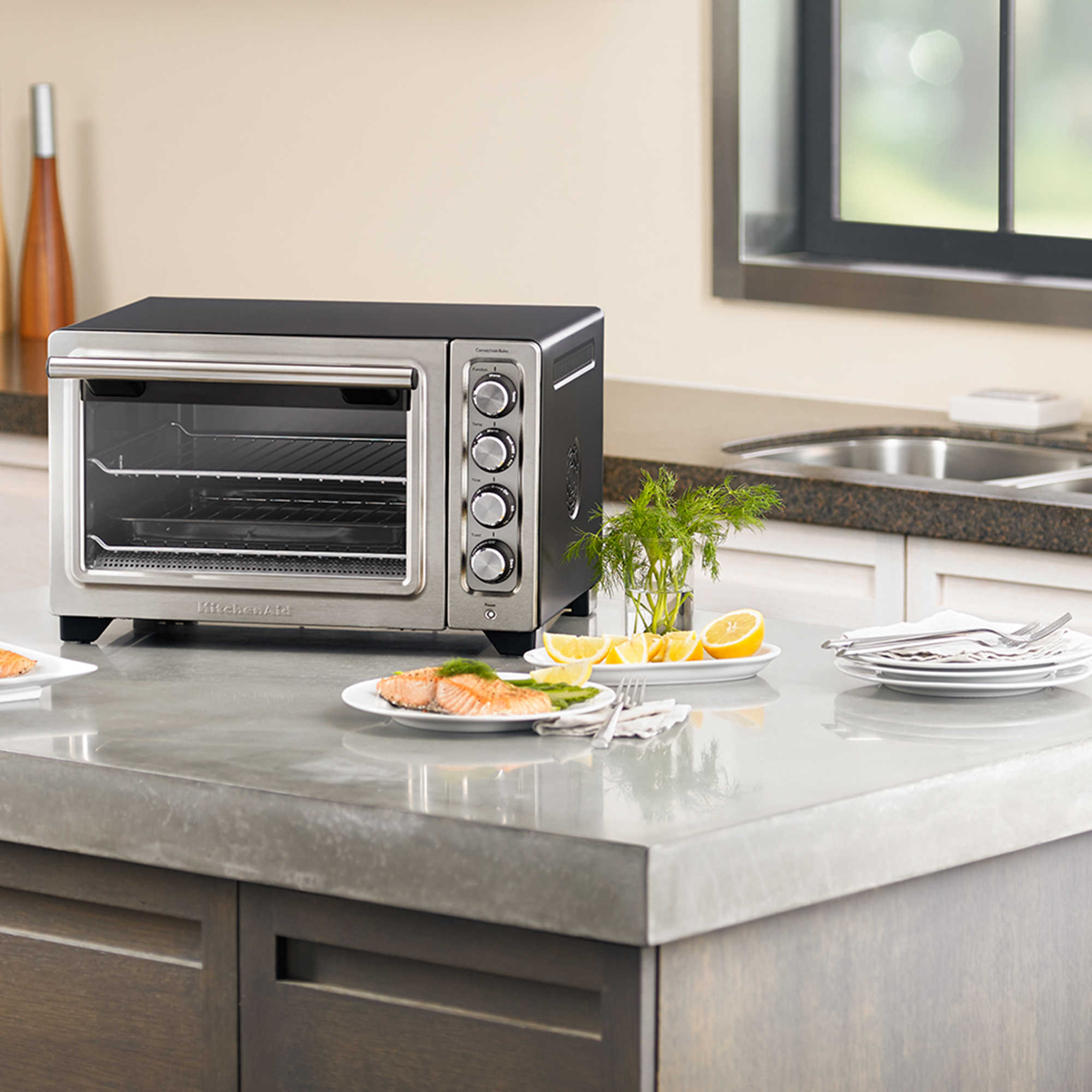Artisan Countertop Convection Oven : ... oven about this item kco253bm 12inch compact convection countertop