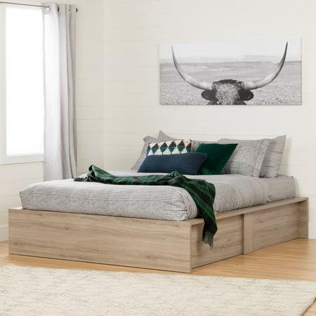 South Shore Fusion Ottoman Queen Storage Bed (60