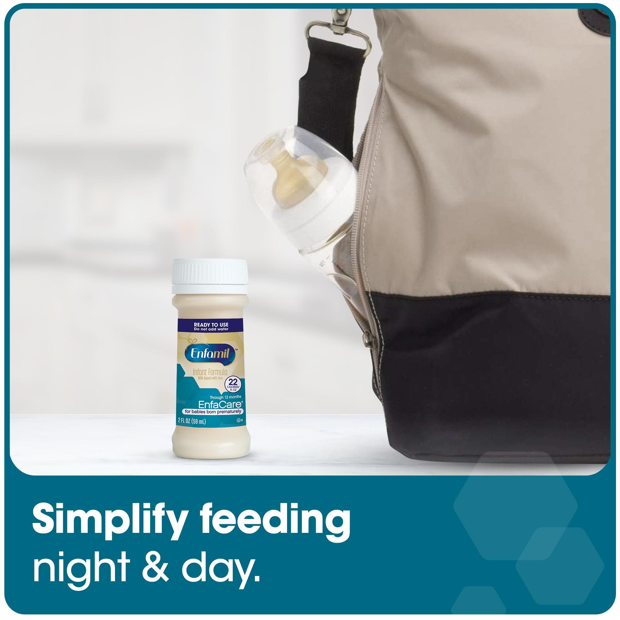 Enfamil EnfaCare Baby Formula 2fl oz Ready to Use Nursette Bottles