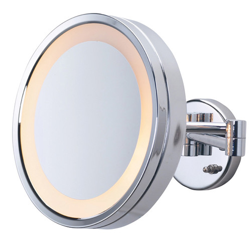Jerdon Halo Wall Mount Lighted Mirror
