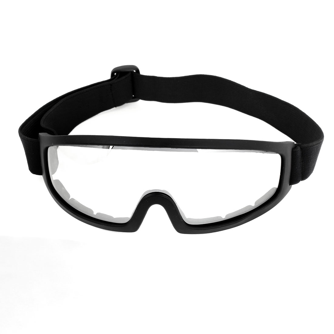 Motorcycle Black Rimmed Anti Sand Wind Desert Eyes Protector Goggles for Unisex