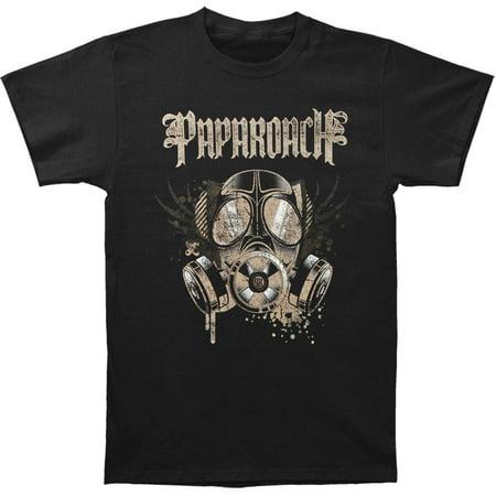 Papa Roach Men's Face Mask Tee T-shirt Small Black - Papa Emeritus Mask