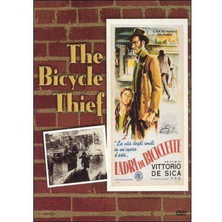 BICYCLE THIEF (DVD) SUB/B/MONO/PCM/REG0 BICYCLE THIEF (DVD) SUB/B/MONO/PCM/REG0 A BEAUTIFUL, SIMPLE STORY OF MAN IN POST-WAR ROME WHO NEEDS HIS BICYCLE IN ORDER TO WORK AT HIS JOB. NO SOONER DOES HE RETRIEVE IT FROM PAWN, THEN IT IS STOLEN. THE HEARTWRENCHING SEARCH TEACHES THE MAN AND HIS SON MUCH ABOUT THE MEANING OF LIFE AND JUST HOW FAR WE WILL GO WHEN PUSHED TO THE EDGE. Features: INTERNATIONALRun Time: 89Release Date: 12/1/1998NRLAMBERTO MAGGIORANI LIANELLA CARELL