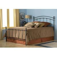 Sanford King Bed, Matte Black