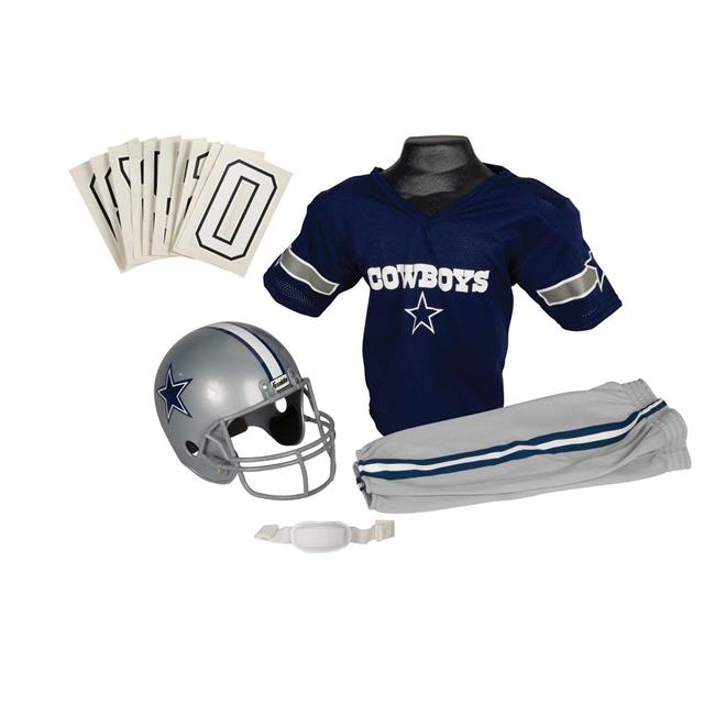 Franklin Sports 15701F03P1Z NFL COWBOYS Medium Uniform Set