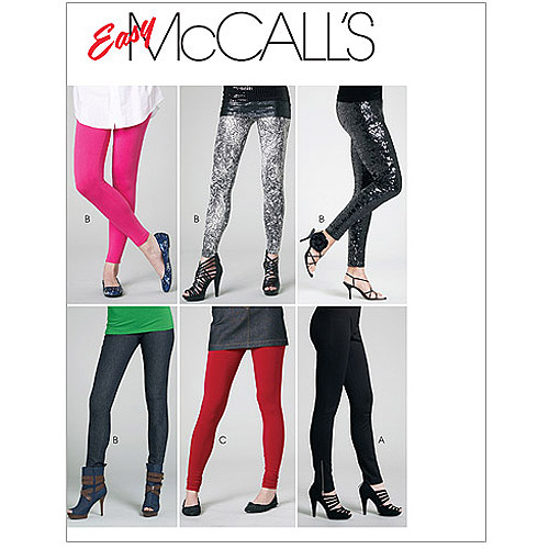 McCall's Pattern Misses' and Miss Petite Pants and Leggings, Y (XS, S, M)