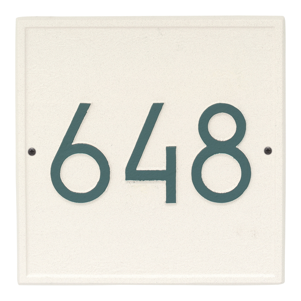 Square Modern Personalized Wall Plaque
