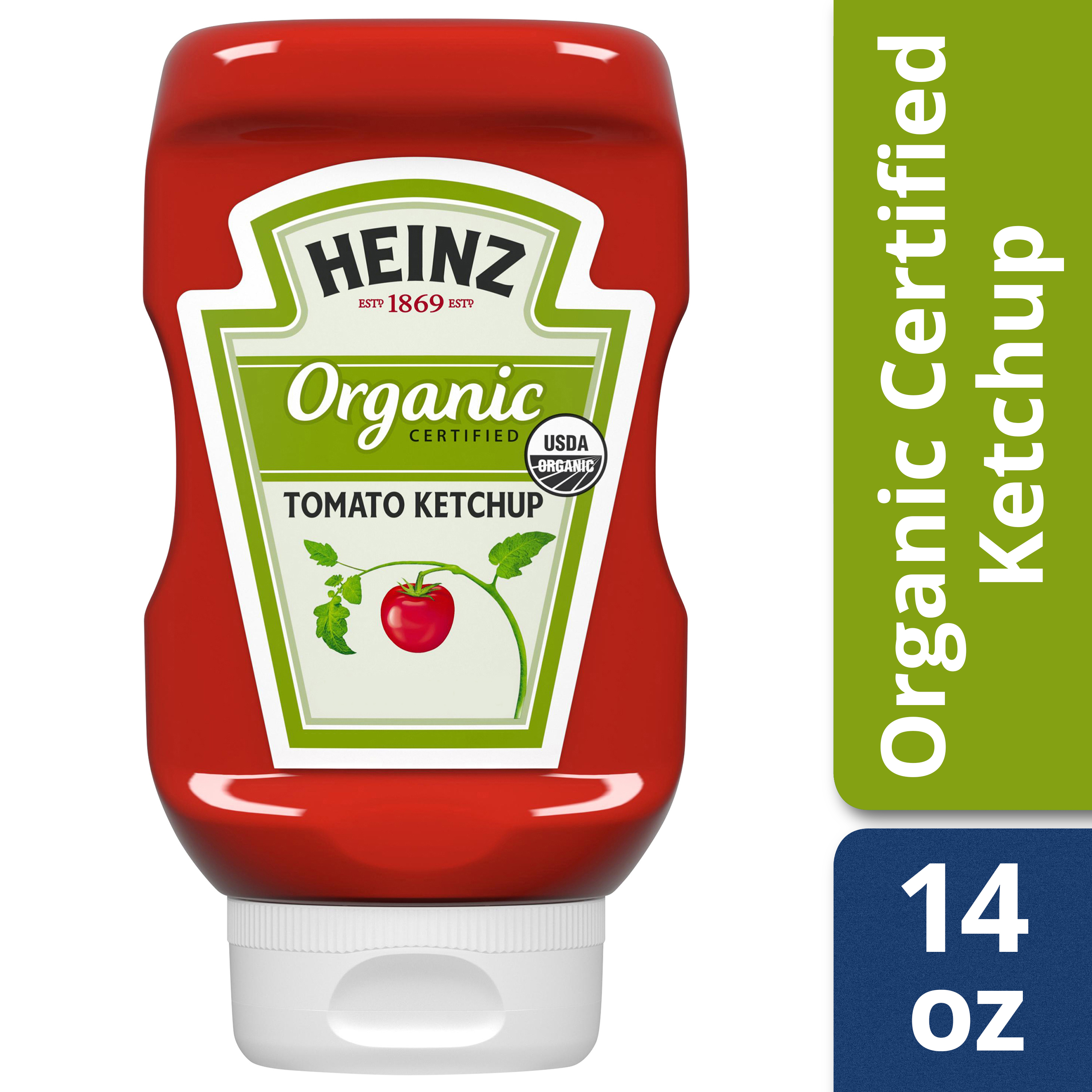 Heinz Organic Tomato Ketchup 14 oz. Squeeze Bottle