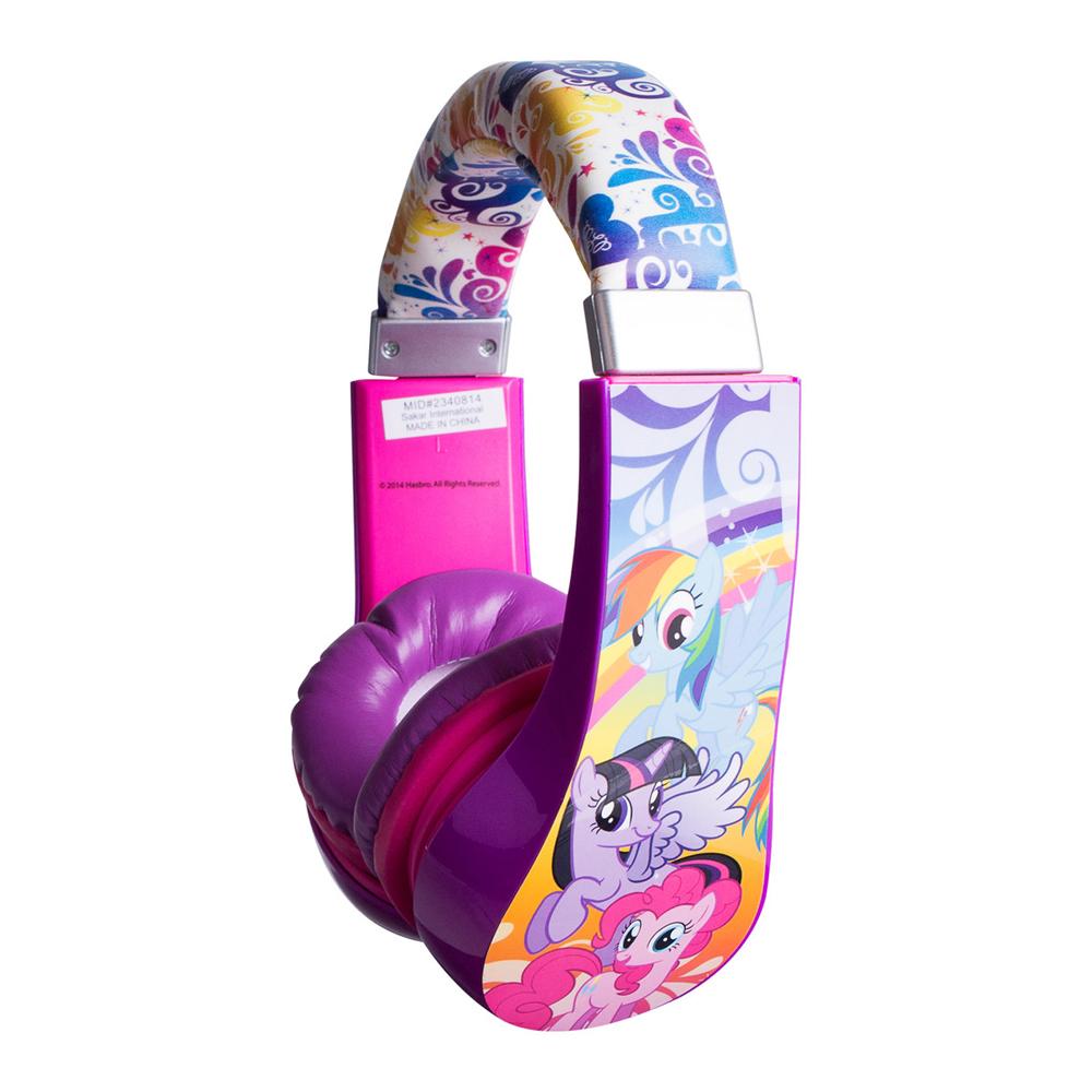 Sakar Kids 30357 My Little Pony Kids Safe Friendly Headphones