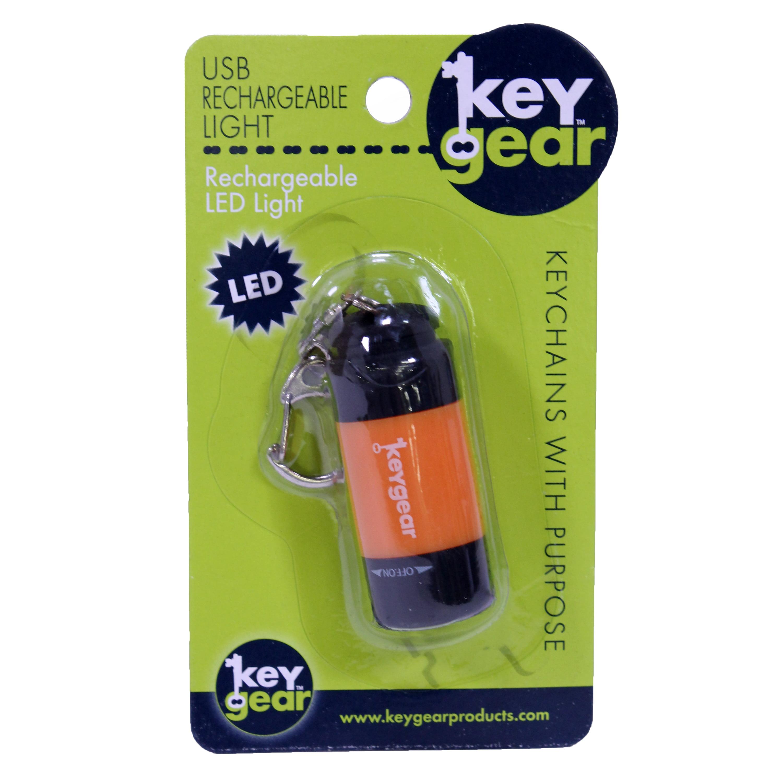 USB Rechargeable Light, Orange