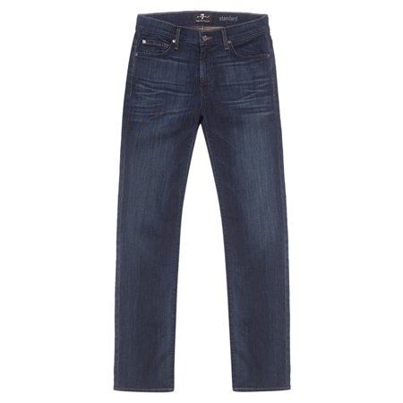 7 For All Mankind Mens Standard Relaxed Straight Jean Ata519629a Marine