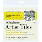 Strathmore 300 Bristol Artist Tiles Paper - 4 x 4 inch - Pack 20