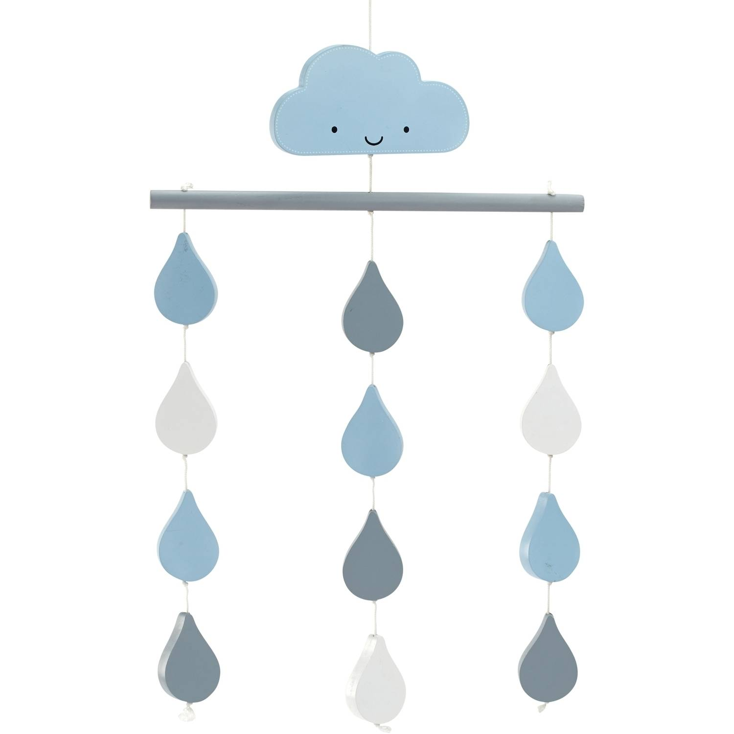 Little Love Happy Clouds Ceiling Mobile by Little Love by NoJo