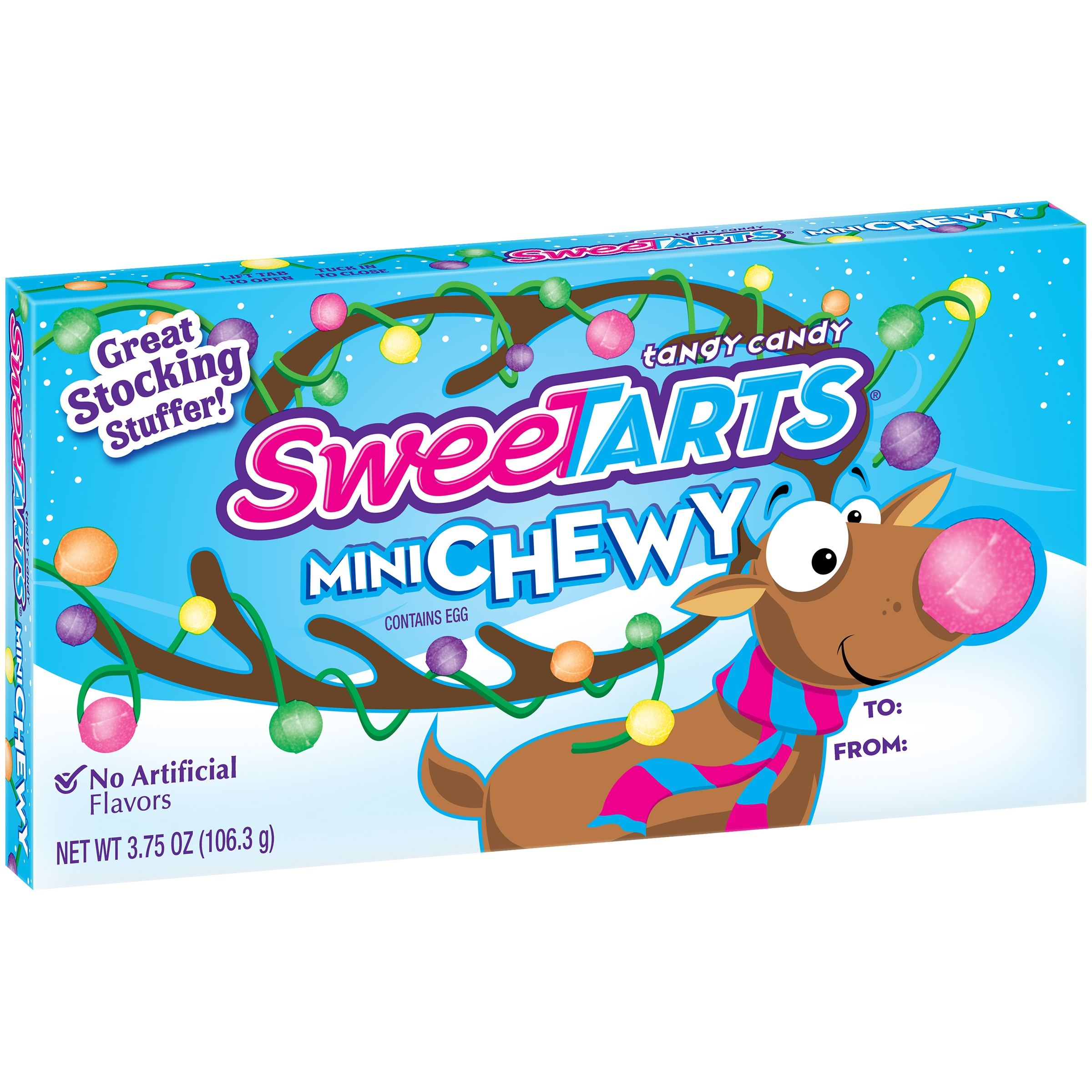 SweeTarts, Holiday Mini Chewy Candy, 3.75 Oz