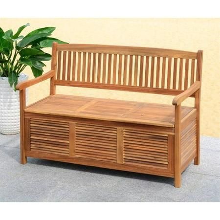 Marvelous One Allium Way Brisbane Acacia Garden Bench Walmart Com Caraccident5 Cool Chair Designs And Ideas Caraccident5Info
