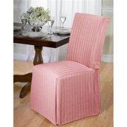 Herringbone Dining Room Chair Slipcover Grey