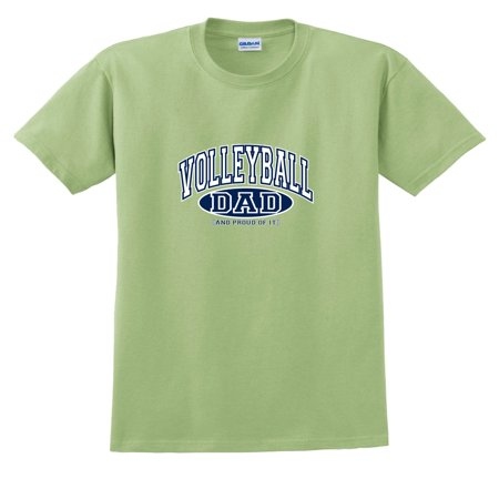 aa567952 Fair Game - Volleyball Dad and Proud of It T-Shirt - Walmart.com