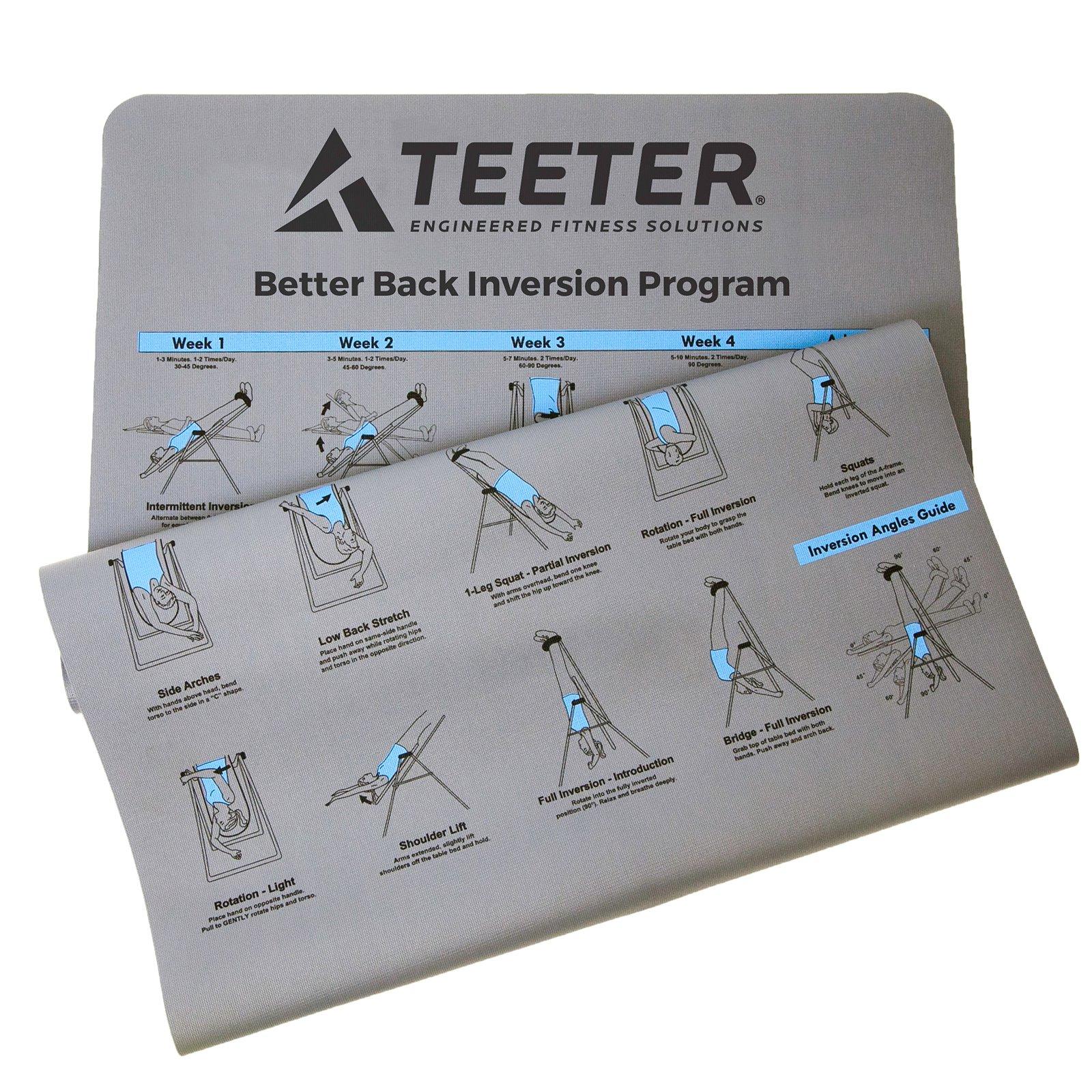 Teeter Better Back Inversion Program Mat