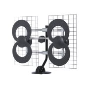 Best Antenna For Rural Areas - ClearStream 4 Indoor/Outdoor HDTV Antenna with Mount Review
