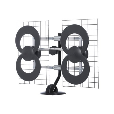 - Antennas Direct ClearStream 4 Ultra Long Range Antenna - HDTV antenna - loop - indoor / outdoor - UHF
