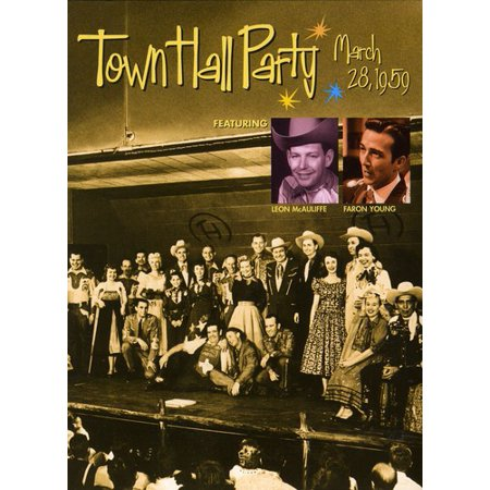 Town Hall Party-March 25 1959 (DVD) (Town Hall Halloween Ball)
