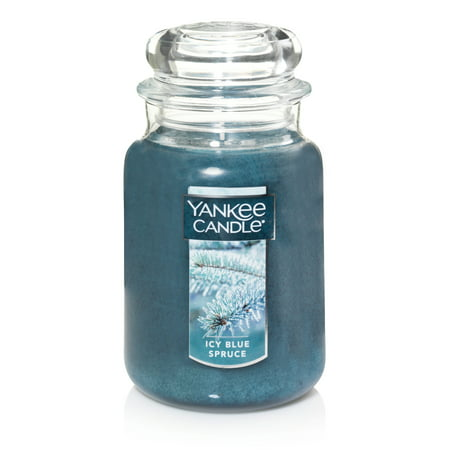 Yankee Candle Large Jar Scented Candle, Icy Blue Spruce