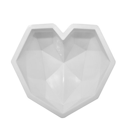 - Handmade Love Heart Diamond Shape Silicone Cake Chocolate Molds For Pudding Chiffon Cake Mousse Dessert Baking Pastry Tools
