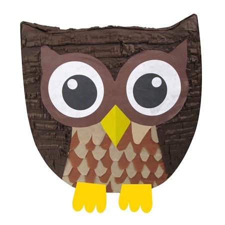 Owl Pinata, Party Game and Decoration for Birthdays, Graduations or Baby Showers, Brown](Baby Carriage Pinata)