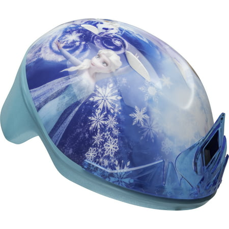 Bell Disney Frozen 3D Tiara Bike Helmet, Toddler 3+ (Bell Sports Blue Bicycle Helmet)