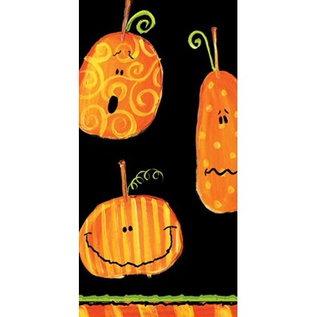 Paper Facial Tissues Halloween Pumpkins Hankies 6560M