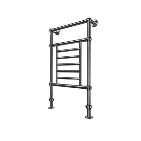 Tuzio E6073 Thames Plug In Floor Standing Towel Warmer   Chrome