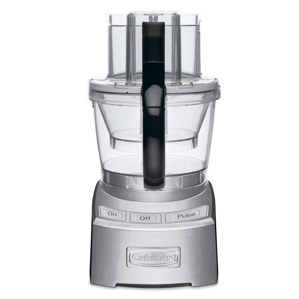Elite Collection 2.0 12-Cup Food Processor, Brushed Chrome