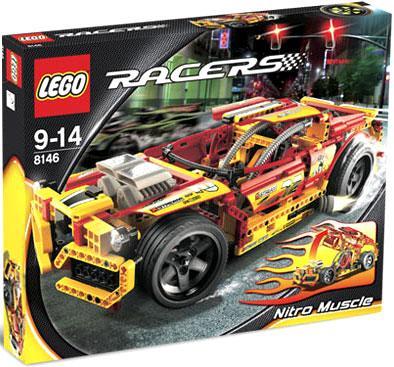 Racers Nitro Muscle Set LEGO 8146