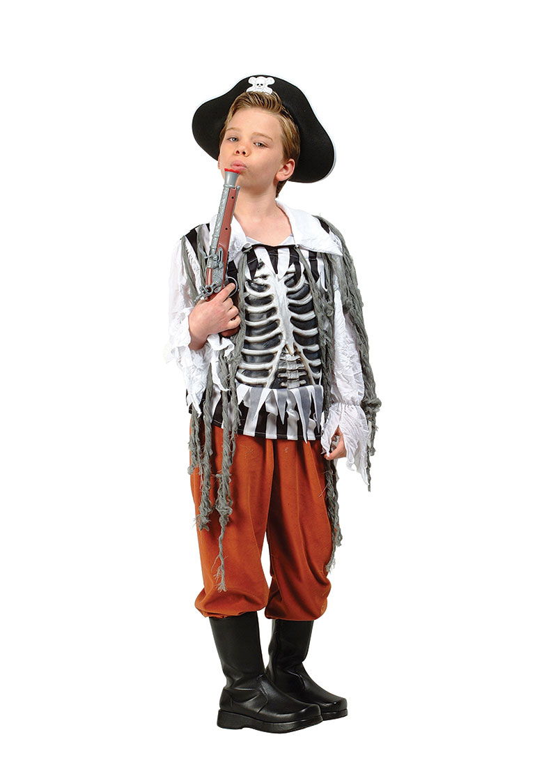 Child Skull Pirate Costume by RG Costumes 90215 by RG Costumes