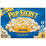 Pop Secret Butter 3 pk Microwave Popcorn 10.5 oz (Pack of 8)