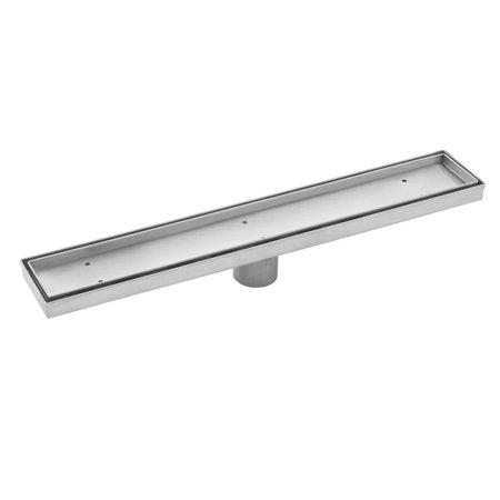Cahaba 30 in. Stainless Steel Tile Insert Linear Shower Drain