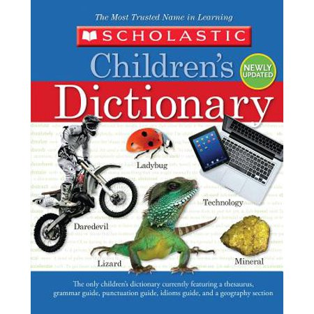 Scholastic Children's Dictionary (Hardcover) (Scholastic Monthly Idea Book)