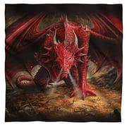 "Anne Stokes - Dragons Lair - Bandana - 22"" x 22"""