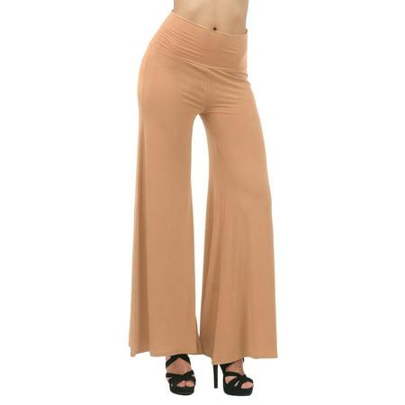 Thanth Women Capri Pants Plus Size Long Leg Wide Pants Chic