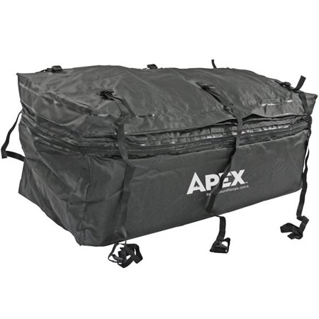 Expandable Cargo Bag - Waterproof Hitch Cargo Carrier Rack Bag with Expandable Height